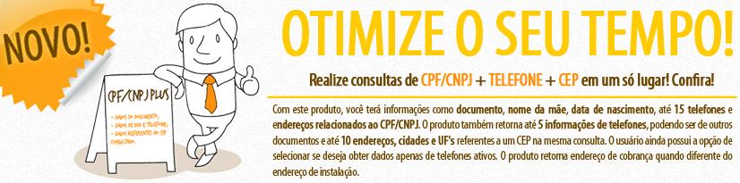 Serviço CPF/CNPJ Plus